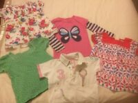 Girl's tops bundle age 3 -4 years - Joules, Mini Boden, George, M&S Indigo, Cherokee