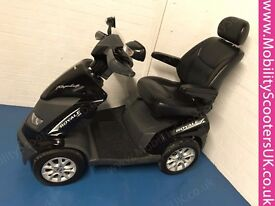 DRIVE ROYALE MOBILITY SCOOTER 8MPH ROAD LEGAL LARGE IN BLACK