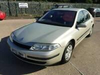 2003 52 renault laguna 1.8 cheap px car to clear long mot