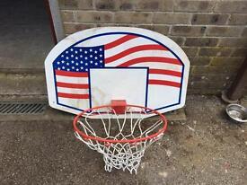 Basketball Hoop and Backboard - NEVER USED!!!