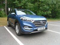 Hyundai Tucson 2.0 CRDi SE Nav 5dr 4WD Auto Diesel 185ps ~ October 2015 ~ Ara Blue Metallic
