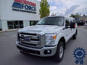2015 Ford Super Duty F-350 SRW XLT Crew Cab 4x4 - 75,743 KMs