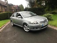 TOYOTA AVENSIS TSPIRIT 2.2 D-4D 150bhp ** SATELLITE NAVIGATION - LEATHER SEATS **