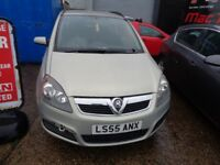 Vauxhall Zafira 2005 1.6 Breaking all parts