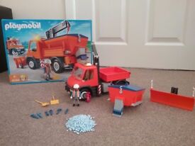 Playmobil Road Maintenance Truck all boxed