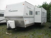 38' PARK / FAMILY Trailer.  Two Slides.  WOW!  TRADES WELCOME