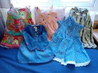 Girl's dresses 12-18 months.