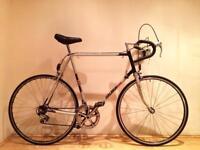 Vintage Raleigh 501 road bike 700c racer large size