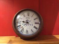 Vintage-style kitchen wall clock