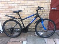 Mens/Boys Moutain Bike for sale (with free helemt & lock)