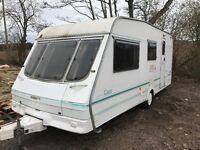 Swift tiree 4berth 17ft 1998 spares or repair got damp