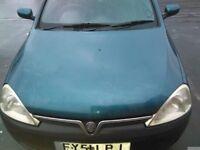 Vauxhall 1.2 petrol