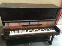 Gors & Kallmann Solid Dark Brown Upright Piano Good Used Condition Delivery Possible ***BARGAIN***
