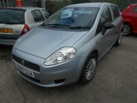 FIAT GRANDE PUNTO 1.2 ACTIVE 5DR 2007 MODEL 83,000 MILES,12 MONTHS MOT ON PURCHASE,1 FORMER KEEPER