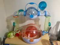 Ovo Habitrail Suite with Hamster and Ball