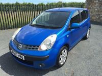 2007 07 NISSAN NOTE 1.4 DCI SVE *DIESEL* 5 DOOR M.P.V - *ONLY 2 FORMER KEEPERS* - FEB 2017 M.O.T!