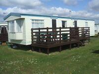SCOTLAND- SOUTHERNESS - DUMFRIES - 2 BED CARAVAN FOR HIRE - SLEEPS 4 - CHEAP BEEAK - SEPT/ OCT DEALS