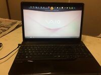 Sony Vaio Laptop (Intel Core i3+ Windows 7+ 3 GB + 320 GB + Built in webcam+ Good condition)