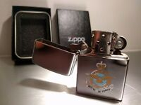 Zippo lighter - Royal Air Force / RAF - Authentic Made in USA with presentation box