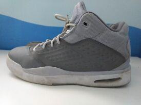 Grey Nike Jordans
