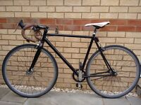 Road bike - Viking - single speed - fixie option (flip flop hub)