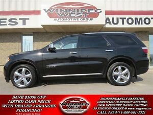 2011 Dodge Durango CITADEL 4X4, 1-OWNER, 7-PASSENGER, ALL OPTION