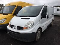 Renault trafic Vauxhall vivaro parts available bumper bonnet wing light radiator interior seats