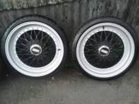 """Bbs alloy wheels 17"""" 4x100 4x108"""