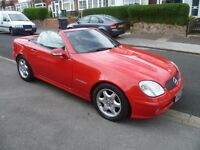 MERCEDES SLK 230 KOMPRESSOR RARE 6 SPEED, 2002 REG, LONG MOT, LOW MILES, TOP SPEC WITH AIR CON