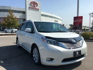 2016 Toyota Sienna Limited - 2nd Row Recliners, Drop-Down Widesc