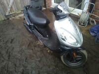 2009 Sym Jet Euro X 50cc... Full M.o.t. Perfect runner