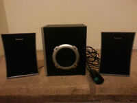 PACKARD BELL SPEAKERS AND SUBWOOFER