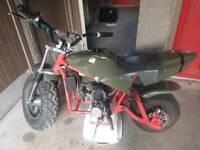 Custom 50cc bike