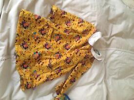 Little bird floral dress