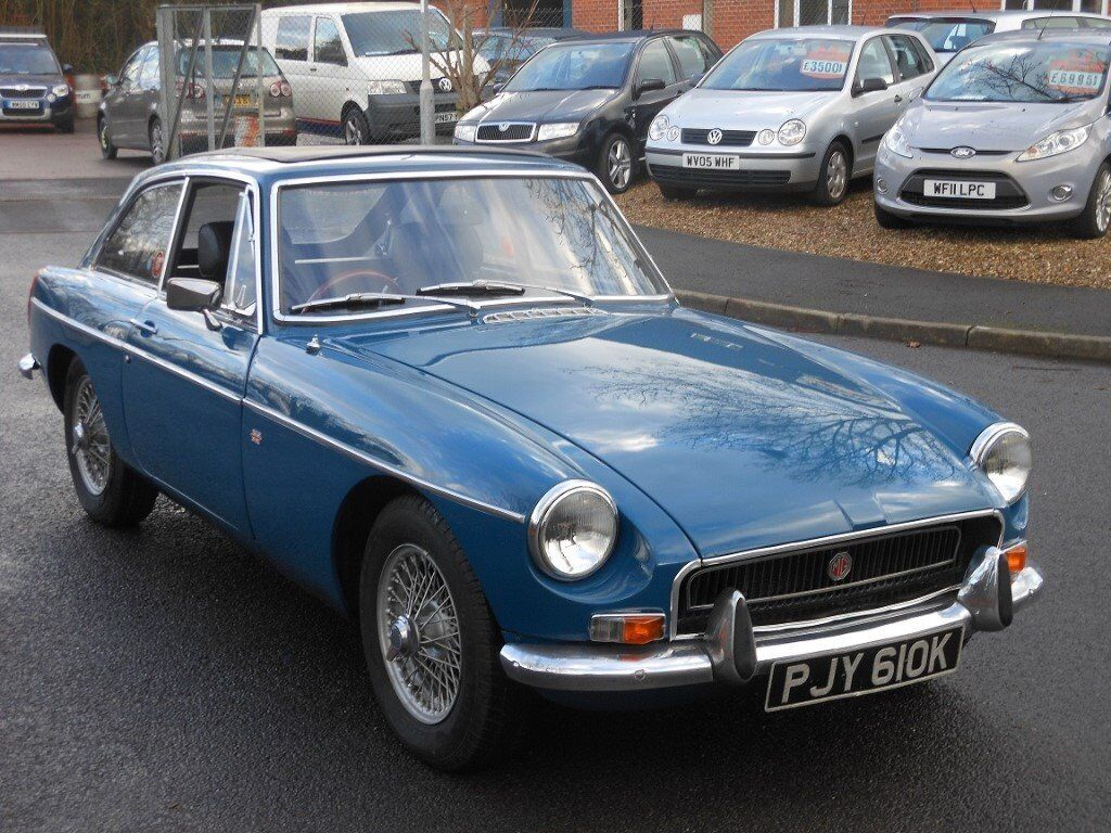 1972 MG BGT, Teal Blue, Wire Wheels | in Taunton, Somerset | Gumtree