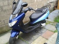 Rebuilt 125cc Scooter - Sold AS-IS.