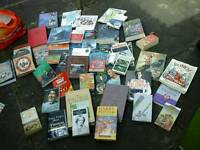 50 books hardbacks,titanic,Harry potter,Blyton, history,football etc joblot