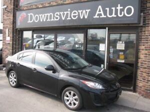 2011 Mazda Mazda3 FULLY CERTIFIED@NO EXTRA CHARGE!