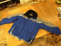 Ski Jacket Blue and Black Rossignol XL in great condition