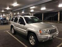 4x4 Jeep Grand Cherokee Crd Ltd Auto 2.7 Diesel Lots Of Extras