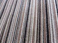 Long Bleach Clean Striped Rug