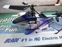 Blade mSR Radio Controlled Helicopter Model - immaculate