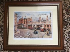 Derby Railway Station framed print by Colin Wright