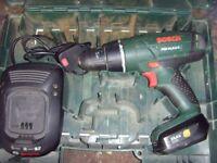 Bosch PSB 1440 LI-2 14.4v cordless drill/hammer