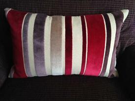 Next Red Stripe Cushion