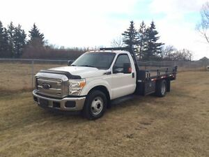 2012 Ford F-350 XLT Cab and Chassis 2WD 10 ft deck
