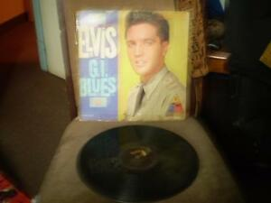 vinyl Elvis/gi blues & elvis for fans only/king creole