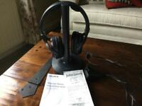 Sony Wireless Stereo Headphone System. With Operating Instructions & Receipt.