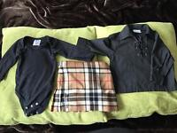 Children's kilt outfit (approx age 6 months)