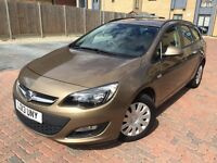2013 Vauxhall Astra Automatic 1.6 - 1 Owner From New - Low 13,000 Miles Only - Full Service History!